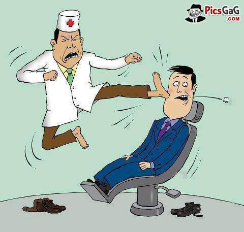 funy dentist